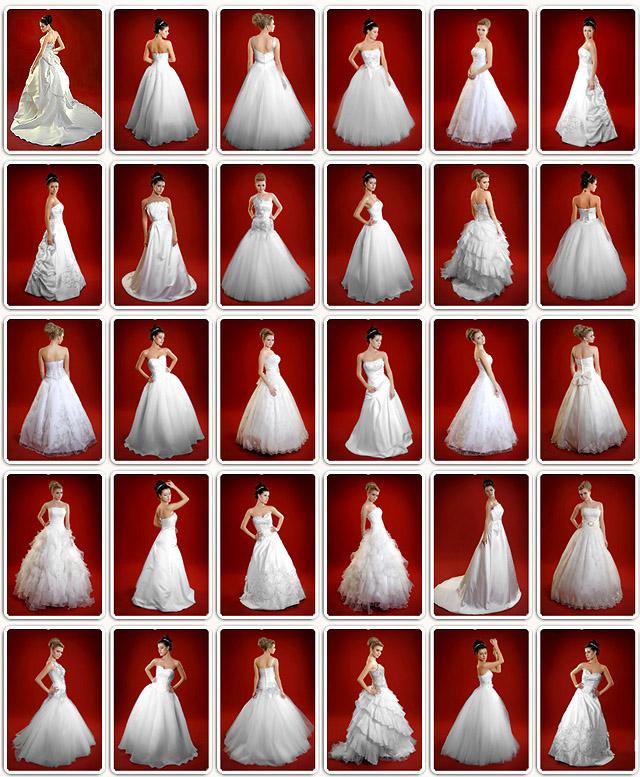 Brautkleider 2012, Frisuren 2012